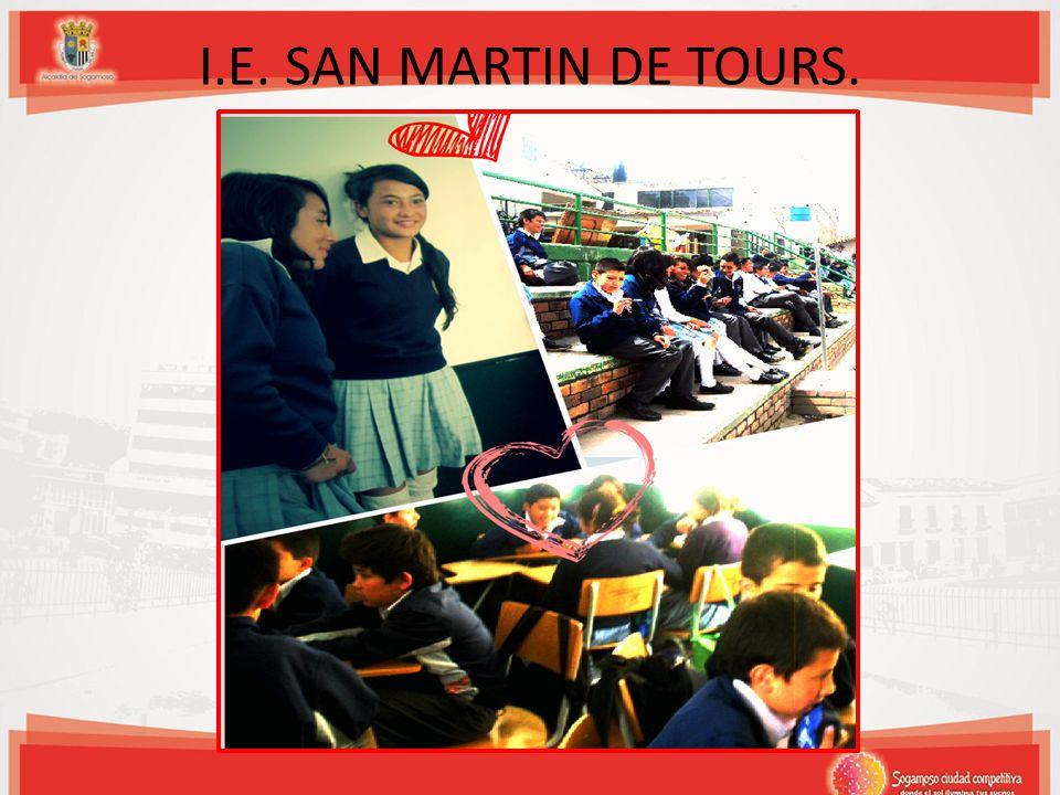I.E. SAN MARTIN DE TOURS.