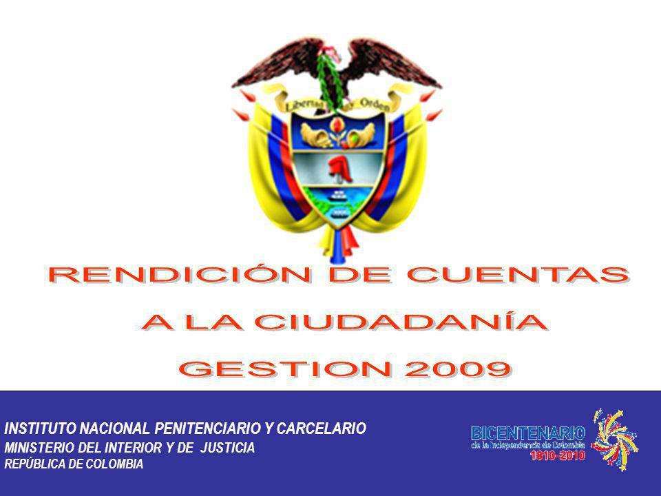 INSTITUTO NACIONAL PENITENCIARIO Y CARCELARIO MINISTERIO DEL INTERIOR Y DE JUSTICIA REPÚBLICA DE COLOMBIA