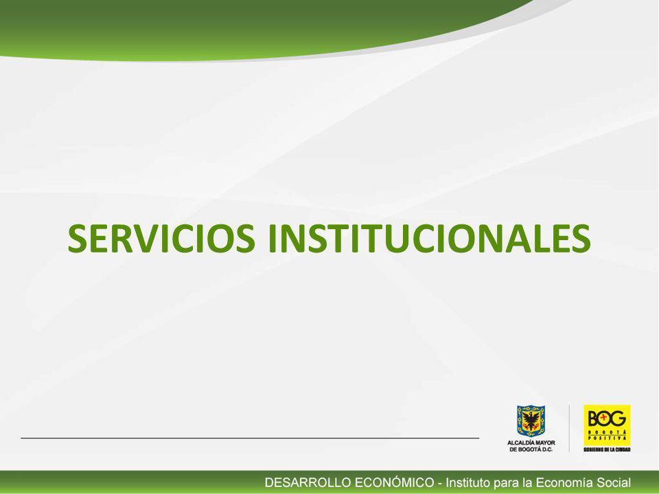 Alternativas productivas para la generación de ingresos de la población económicamente vulnerable 1 Formación para el trabajo a la población vinculada a los proyectos desarrollados por El IPES.