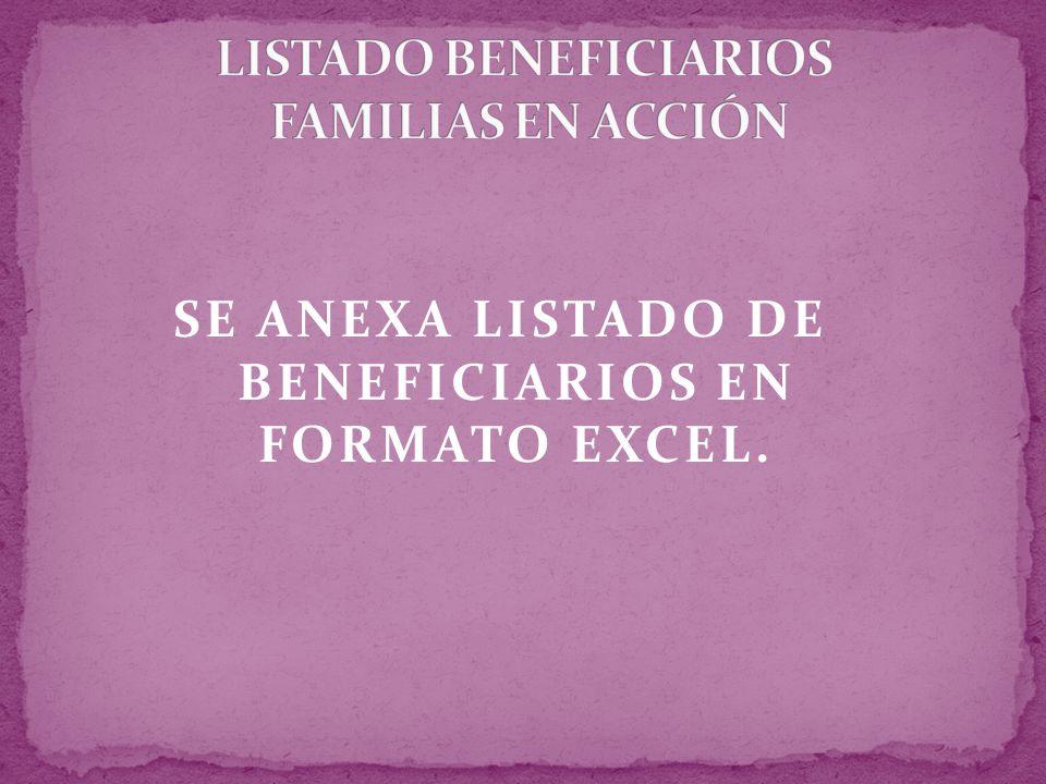 MINISTERIO DE LA PROTECCIÓN SOCIAL INSTITUTO COLOMBIANO DE BIENESTAR FAMILIAR REPÚBLICA DE COLOMBIA PROGRAMA DE PROTECCIÓN SOCIAL AL ADULTO MAYOR