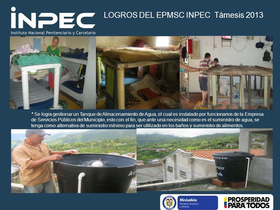 OP 22-117-07 V01 * * Se logra gestionar un Tanque de Almacenamiento de Agua, el cual es instalado por funcionarios de la Empresa de Servicios Públicos