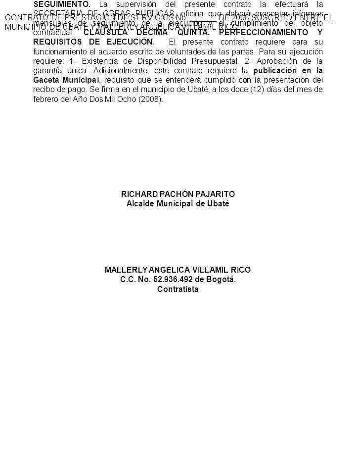 CONTRATO DE PRESTACIÓN DE SERVICIOS No.