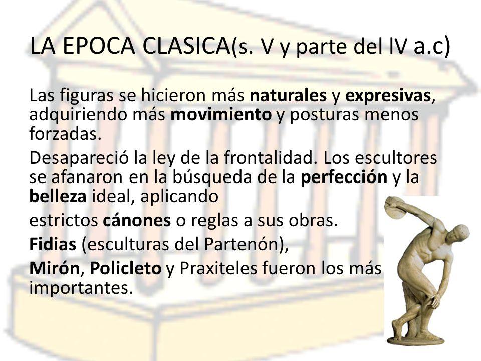 LA EPOCA CLASICA (s.