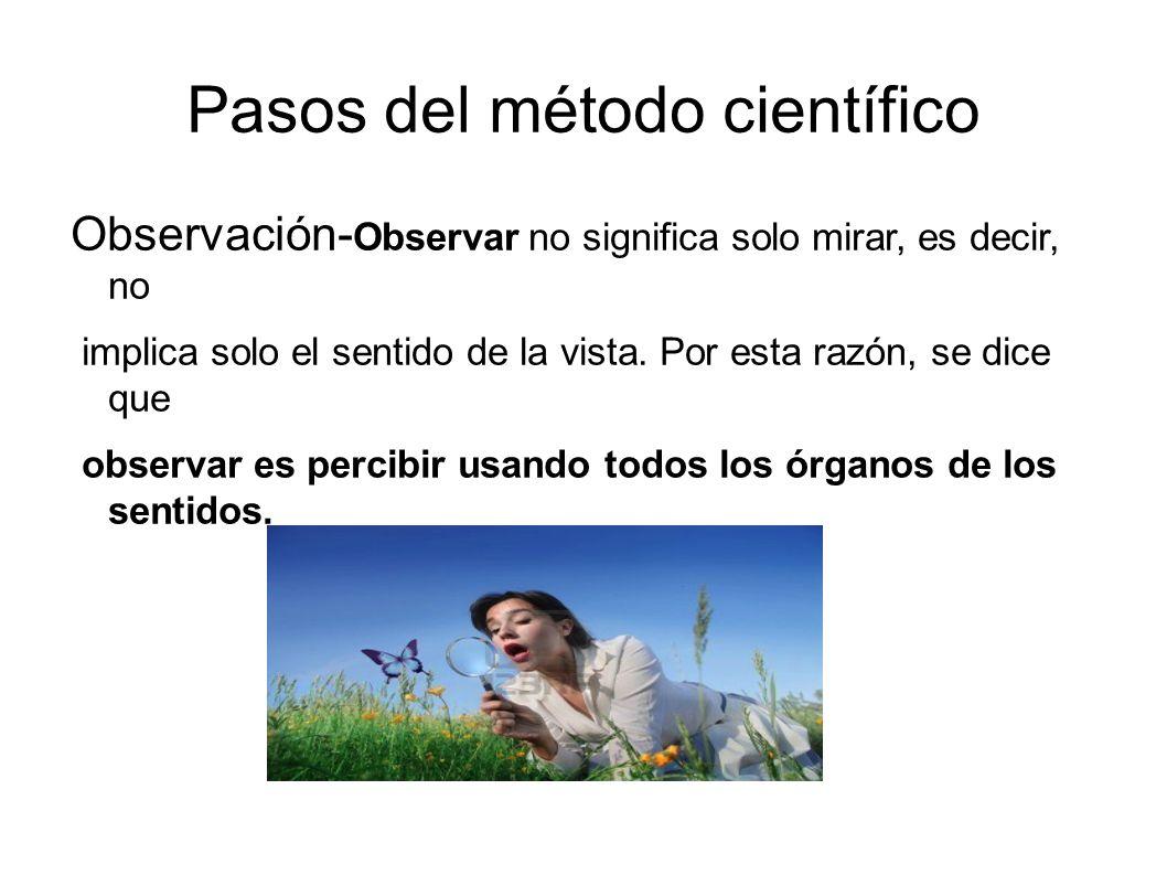 Observación Observación cuantitativa Las observaciones pueden ser cuantitativas; estas implican descripción de cuánto.