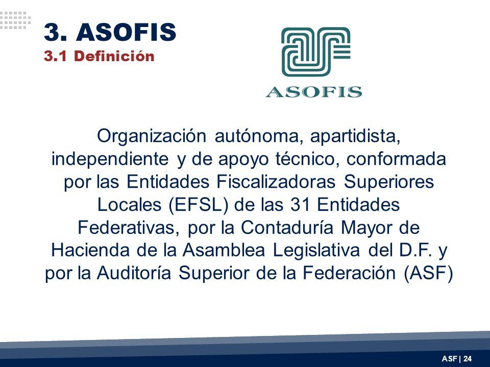 Organización autónoma, apartidista, independiente y de apoyo técnico, conformada por las Entidades Fiscalizadoras Superiores Locales (EFSL) de las 31