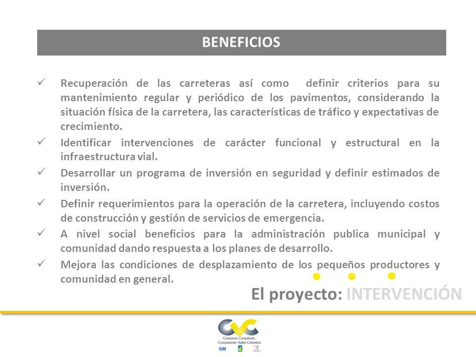 Las actividades de mantenimiento y operación, deberán ser ejecutadas por el concesionario para todos los corredores y sectores que componen las unidades funcionales.