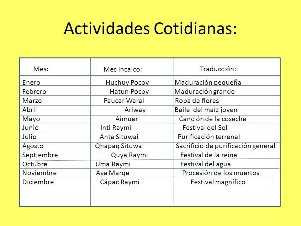 Calendario: El calendario Inca es el sistema de medición del tiempo empleado por los Incas.