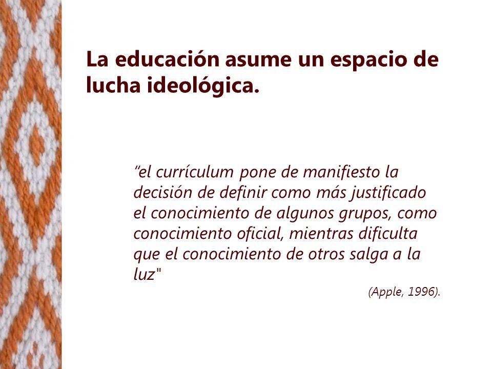 No hay justicia social sin justicia cognitiva El problema de justicia social es de tipo epistemológico.