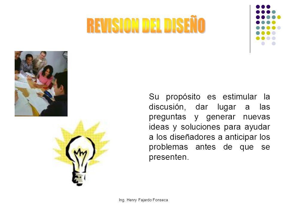 Ing. Henry Fajardo Fonseca Su propósito es estimular la discusión, dar lugar a las preguntas y generar nuevas ideas y soluciones para ayudar a los dis