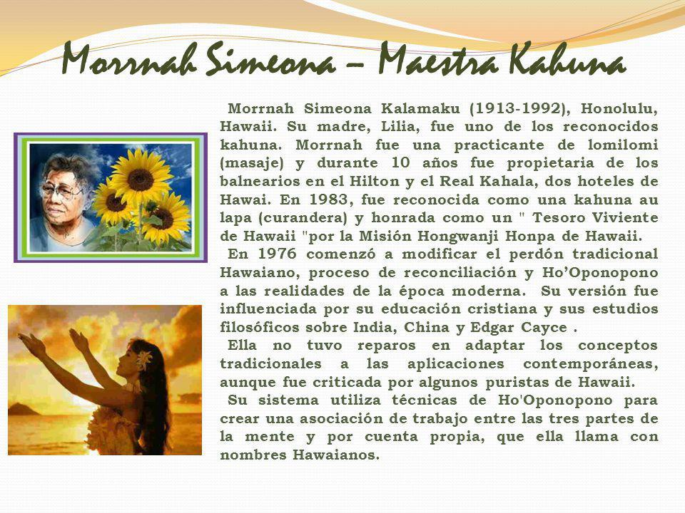 Espíritu de Aloha Enseñanzas de Morrnah Simeona