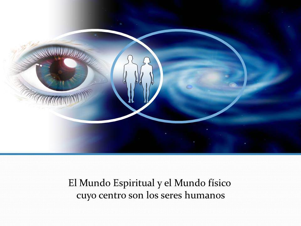 El Mundo Espiritual y el Mundo físico cuyo centro son los seres humanos