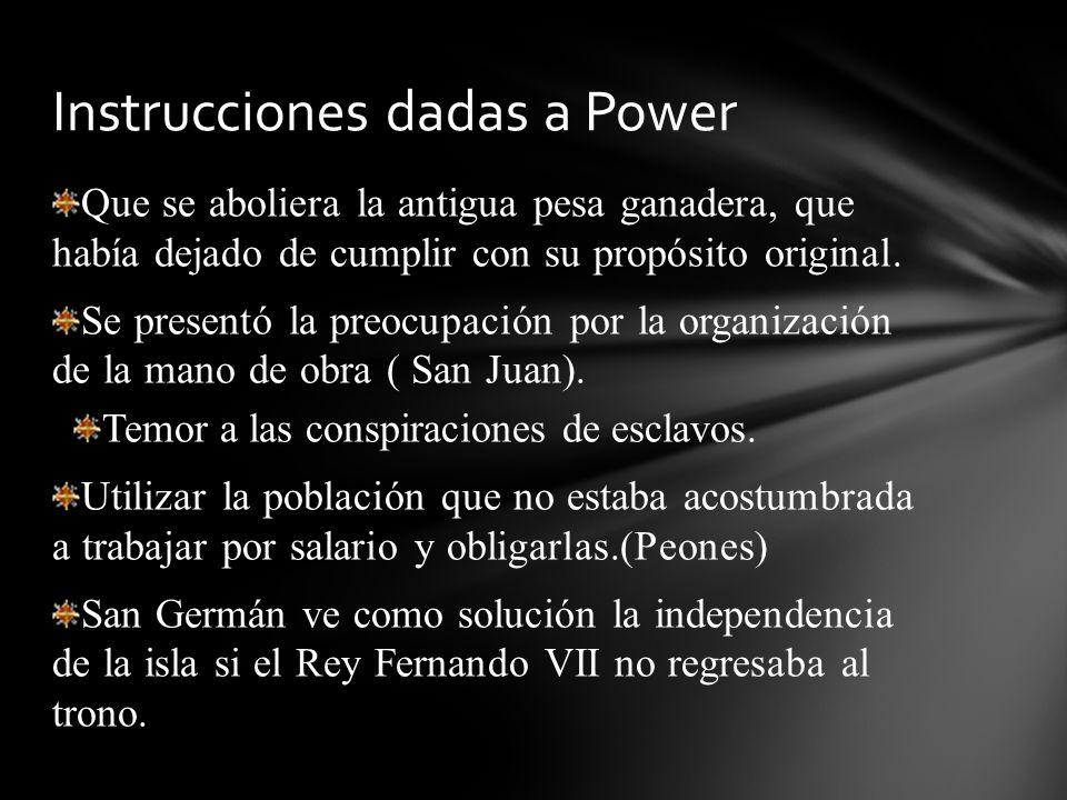 Logró un plan de reformas para Puerto Rico que se le conoce como la Ley Power.