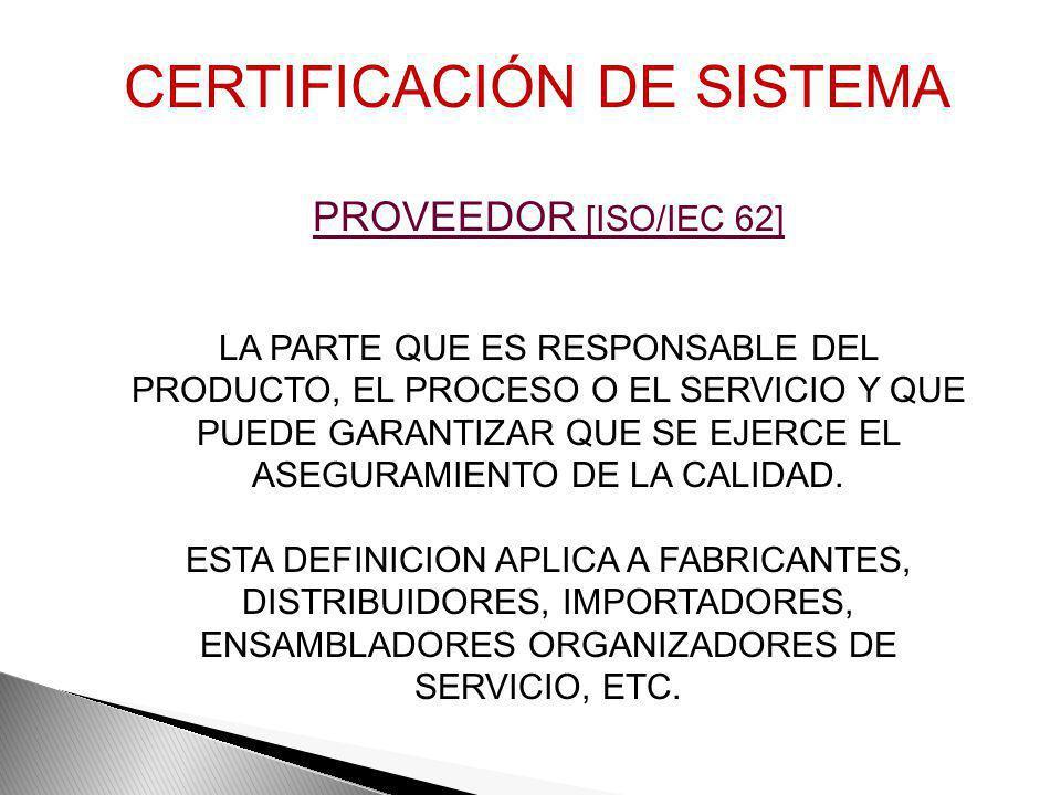 CALIDAD [ISO 9000:2008] GRADO EN EL QUE UN CONJUNTO DE CARACTERÍSTICAS INHERENTES CUMPLE CON LOS REQUSITOS REQUISITO [ISO 9000:2008] NECESIDAD O EXPEC