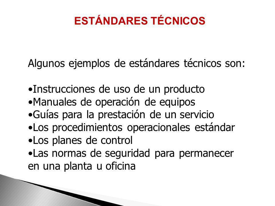 EJEMPLO DE UN ESTANDAR GERENCIAL COMPAÑÍA ABC-SISTEMA DE VENTAS