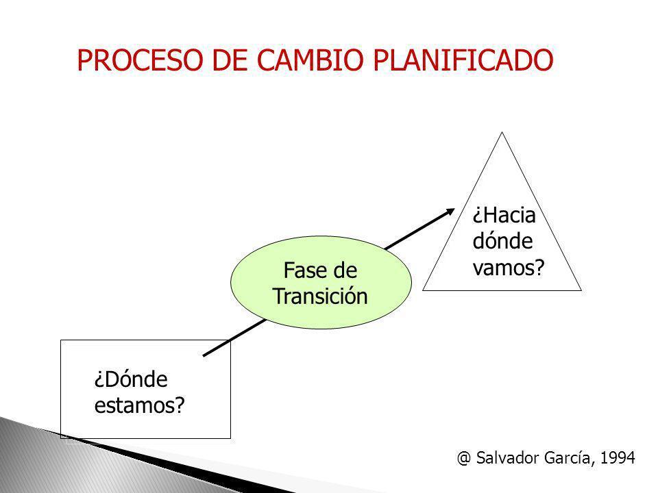 Diagnóstico de problemas Qué? Y Por qué? I Planificación de acciones Cómo? II Implantación III Seguimiento y Evaluación IV