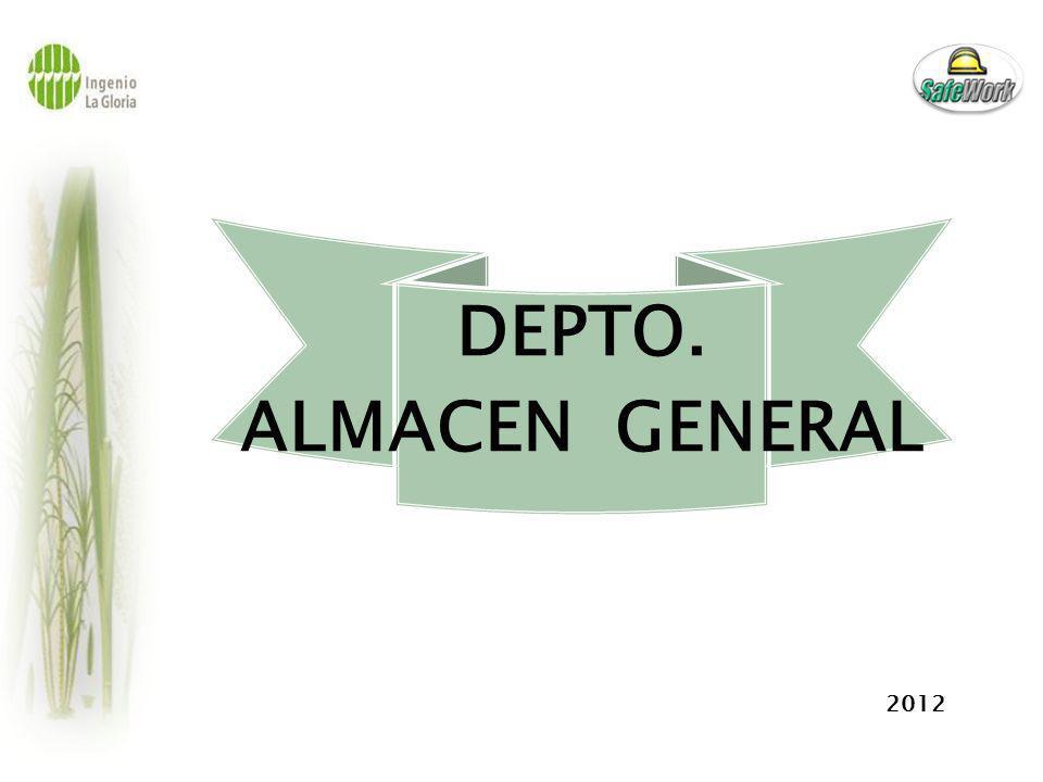 ALMACEN : Riesgo de Seguridad Montaje de Techo para cubrir tanques de oxigeno y acetileno.