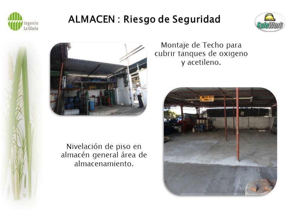 CENTRIFUGAS: Riesgo de Seguridad Cambio de escalera de acceso por secadores a evaporación