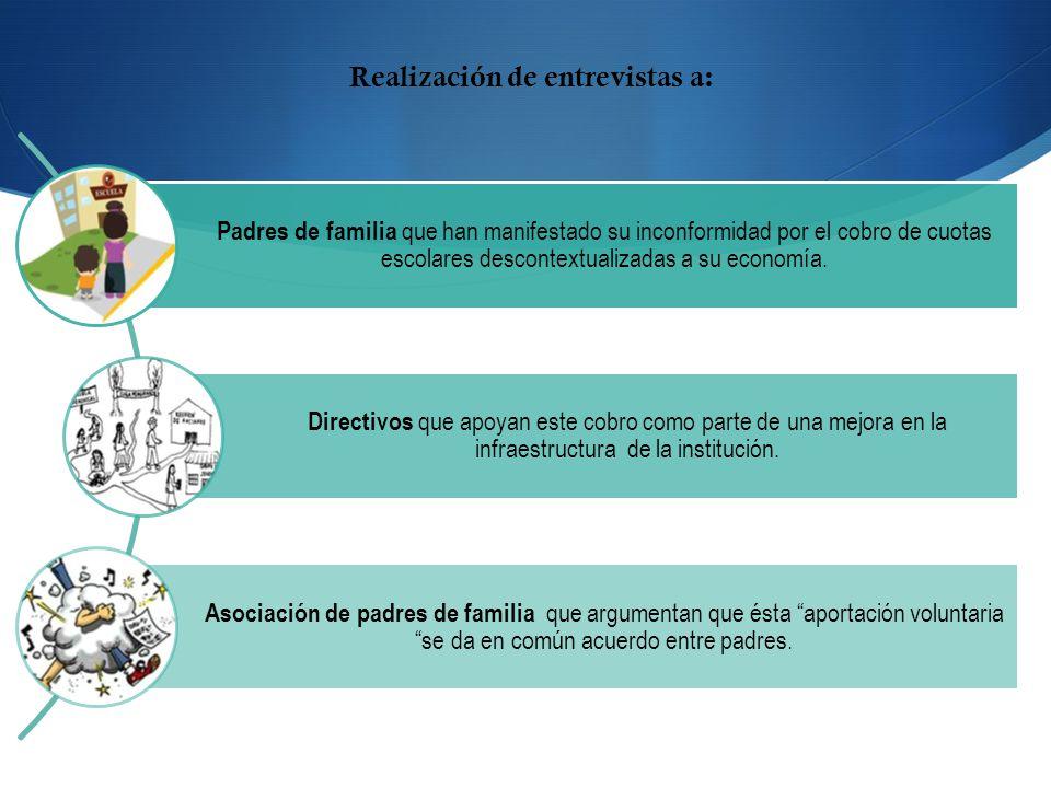 Revisar y analizar: Situación económica de la educación en este nivel.
