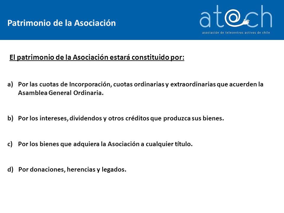 María Angélica Celedón Directora Ejecutiva www.atach.cl