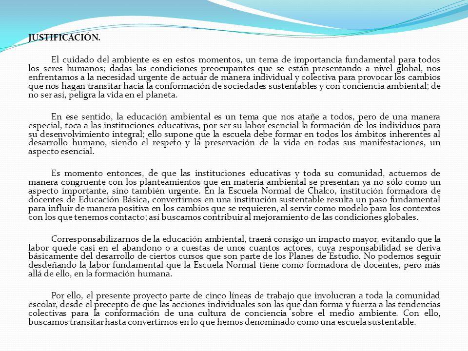 CINCO ACCIONES EN EDUCACIÓN AMBIENTAL ACCIONES EN EA REDUCIR EL CONSUMO DE MATERIALES REUTILIZACIÓN DE MATERIALES SEPARACIÓN DE BASURA RECICLADO DE DESECHOS REDUCIR EL CONSUMO DE RECURSOS: ENERGÍA Y AGUA
