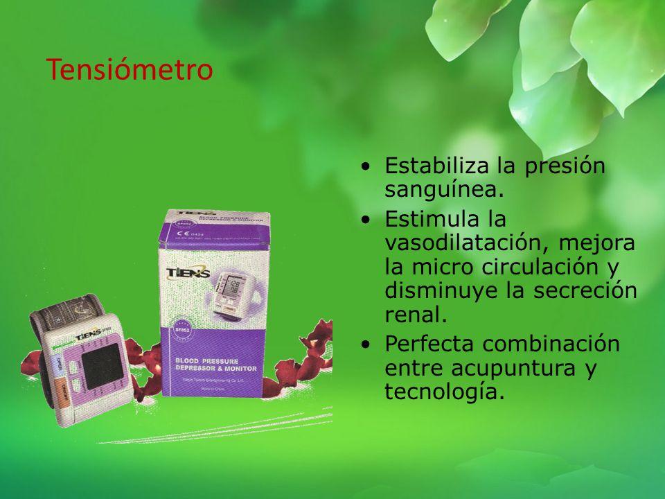 Masajeador Muscular Instrumento Biomédico diseñado para tratar diferentes afecciones basado en la acupuntura. No utiliza agujas. Reduce la presión art
