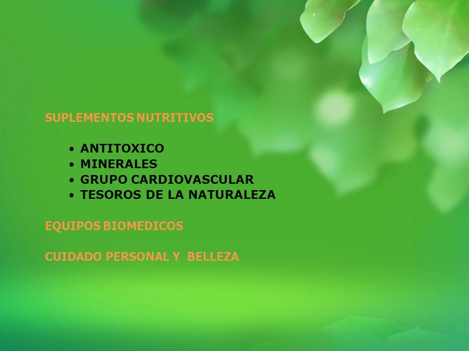PRODUCTOS Elaborado Olga González Asesora en salud TIENS