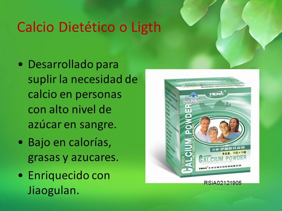 Polvo Nutritivo Biocalcio molecular de excelente valor nutritivo Tiene como característica principal un nivel de absorción hasta el 98% Es rico en pro