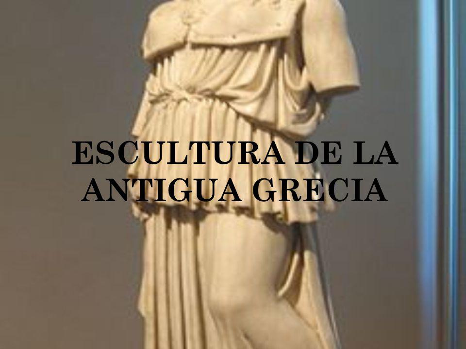 La escultura de la Antigua Grecia alcanzó el ideal de la belleza artística hasta donde pudo llegar por sí solo el ingenio humano.