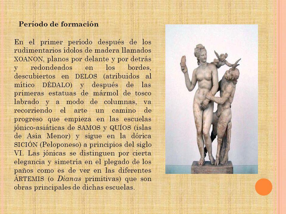 Periodo arcaico.kurós del Asclepeion de paros.