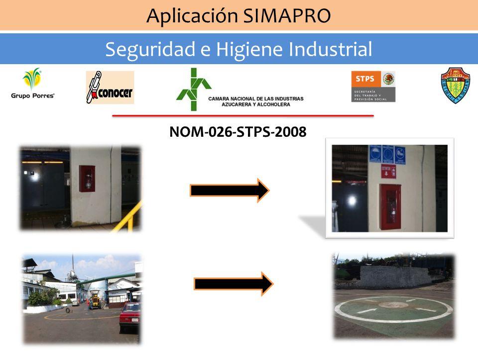 Aplicación SIMAPRO Seguridad e Higiene Industrial Automatización