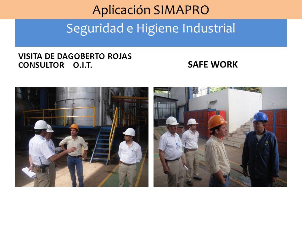 Seguridad e Higiene Industrial Aplicación SIMAPRO