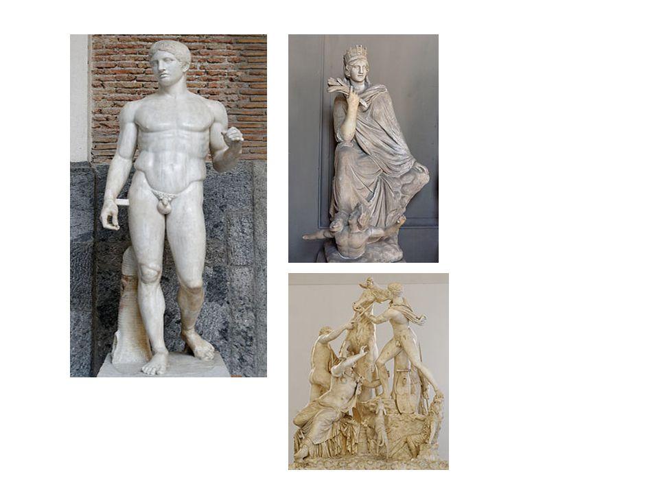 La escultura es la manifestación artística en la que más destacaron los griegos.