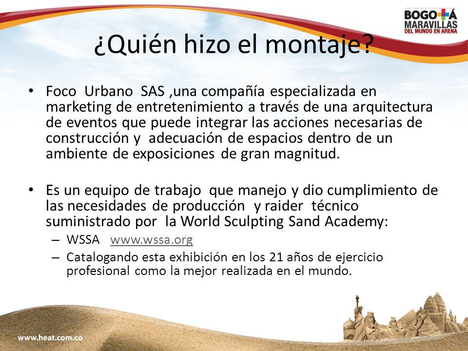 www;maravillasenarena.com ¿Qué genera esta exposición.