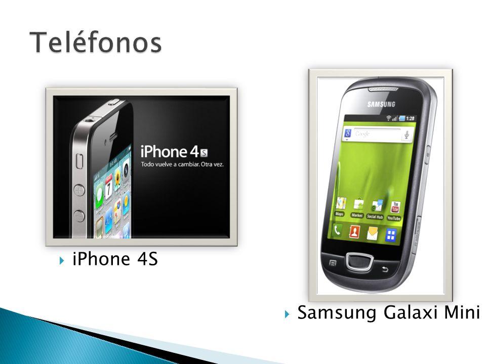 iPhone 4S Samsung Galaxi Mini