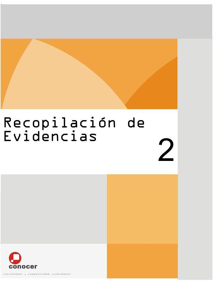 Recopilación de Evidencias 2