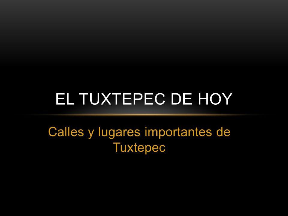 Calles y lugares importantes de Tuxtepec EL TUXTEPEC DE HOY