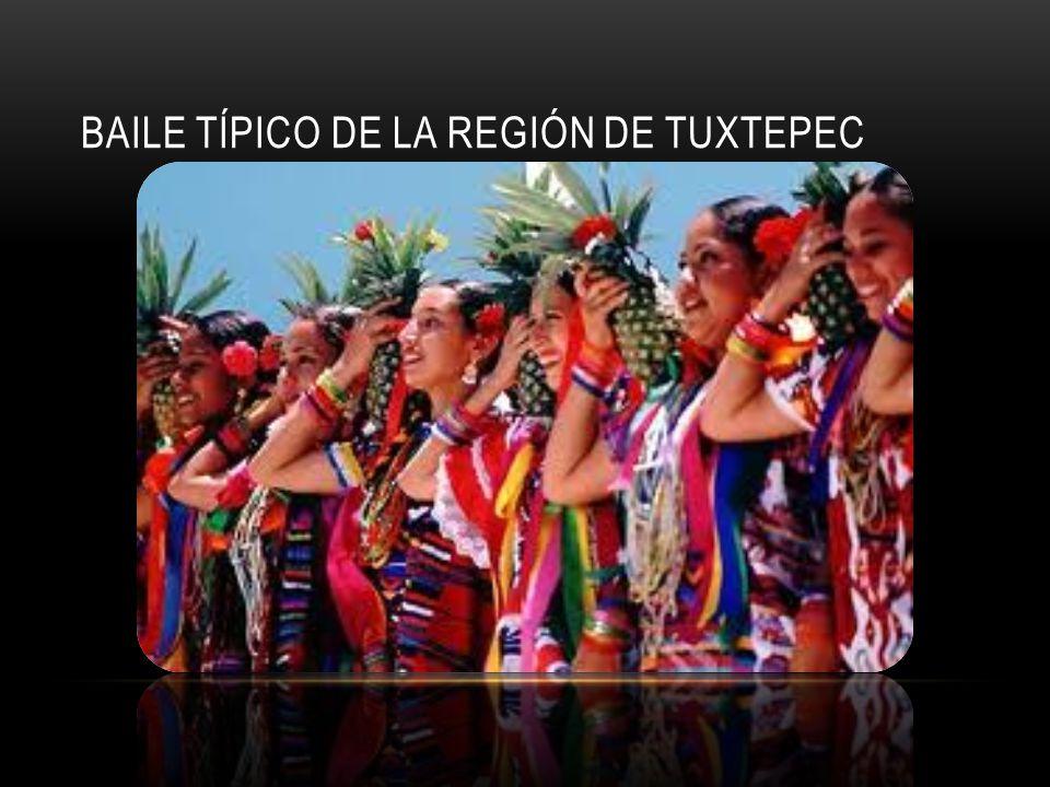 BAILE TÍPICO DE LA REGIÓN DE TUXTEPEC
