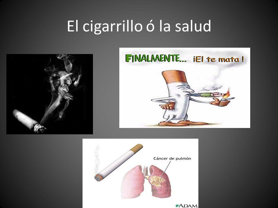 El cigarrillo ó la salud