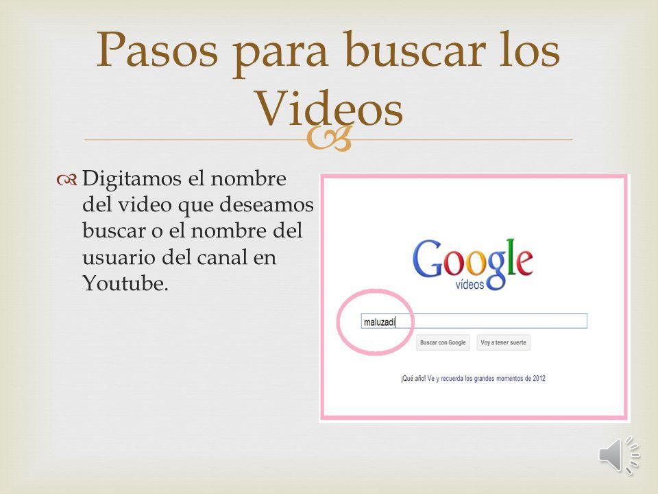 Vista de la Aplicación de Google Más luego de darle clic a la opción videos en Más.