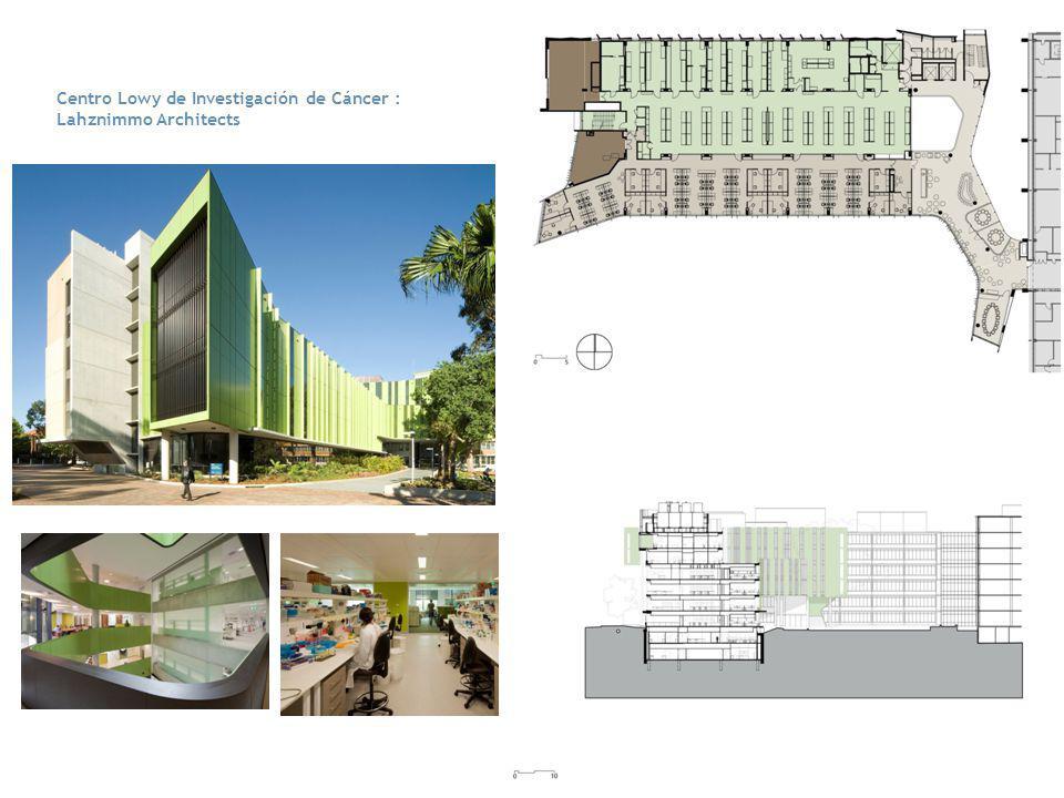 Centro Lowy de Investigación de Cáncer : Lahznimmo Architects