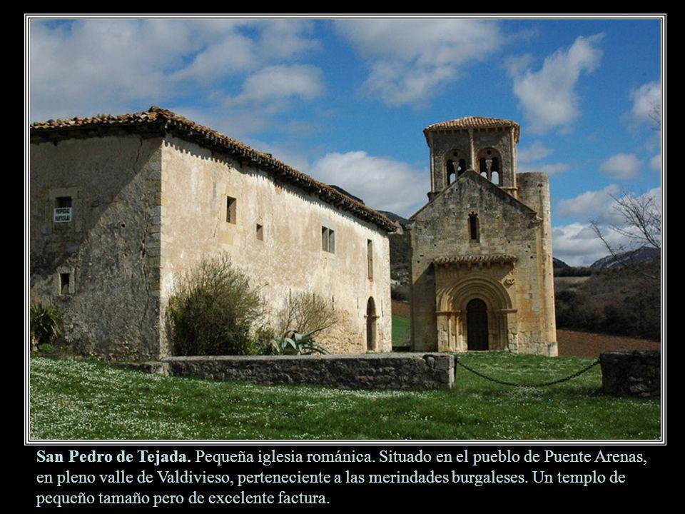 San Pedro de Tejada.Pequeña iglesia románica.