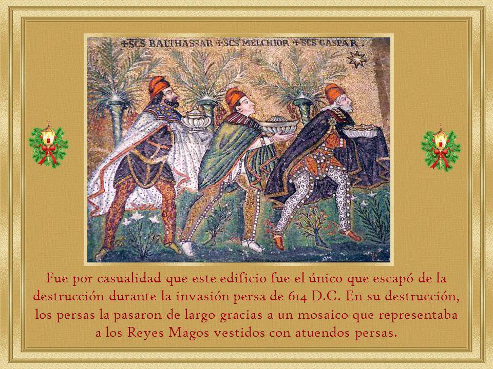 En el año 529, durante la rebelión de los samaritanos, fue quemado y destruido completamente.