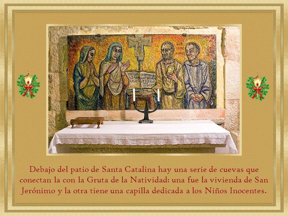 A ellos se concedió a los franciscanos la posesión de la Gruta del Nacimiento y el mantenimiento de la basílica, derecho que comparten con los ortodoxos griegos y los armenios ortodoxos.