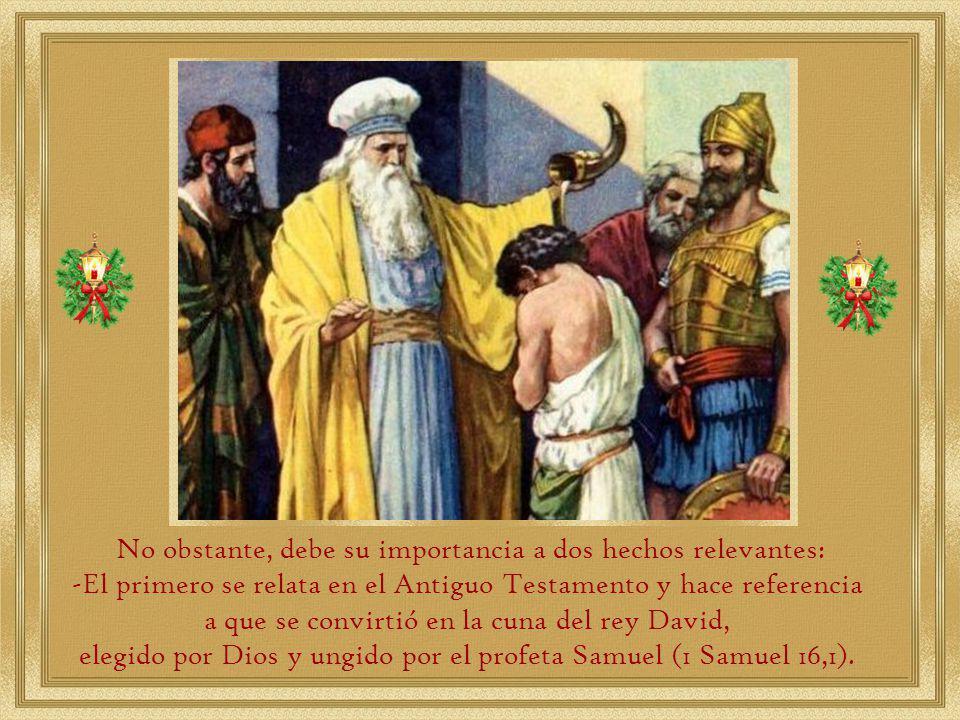 Es mencionada por primera vez en Génesis 35:19, donde se señala que Raquel murió al dar a luz cerca de Belén camino a Efratá y que Jacob erigió un pilar en su sepultura.