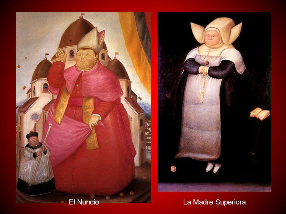 Desde finales de los sesenta Botero incluyó entre sus obras algunos temas de sátira política como reflejo de las dictaduras sufridas por algunos paíse