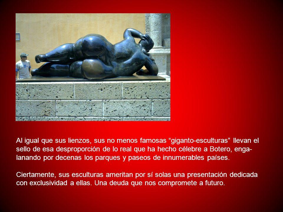 La religión, la política y los militares son los mandos bajo los cuales se desarrolla la vida colombiana y Botero, conocedor de ello, lo refleja tambi