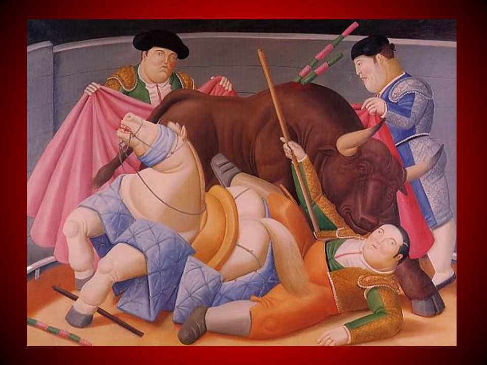 Al igual que sus lienzos, sus no menos famosas giganto-esculturas llevan el sello de esa desproporción de lo real que ha hecho célebre a Botero, enga- lanando por decenas los parques y paseos de innumerables países.