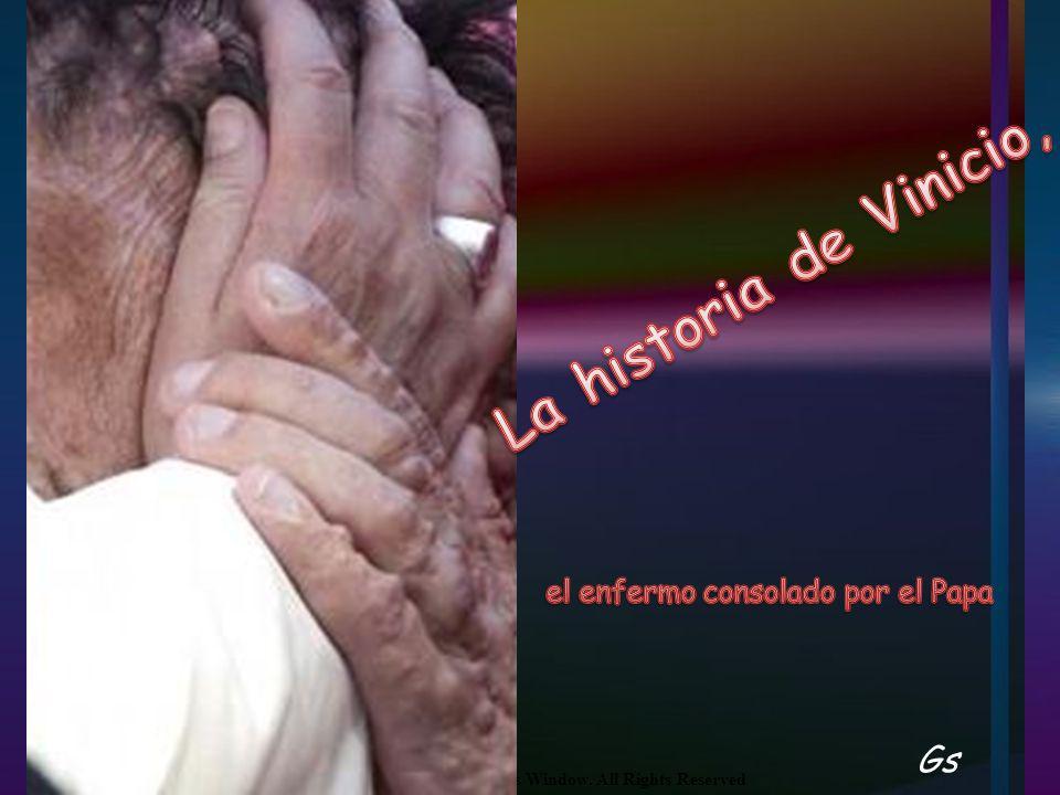 El encuentro con Francisco fue para Vinicio el comienzo de una nueva etapa.