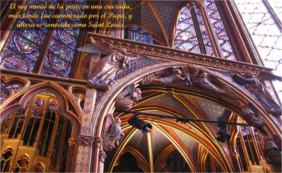 Así como el emperador podía pasar en privado desde su palacio en la iglesia de Santa Sofía en Constantinopla, ahora el rey Luis podía caminar directam