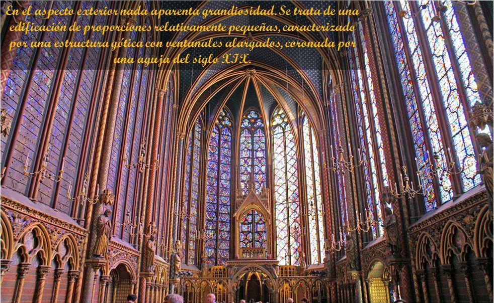 Su origen se remonta al siglo XIII, cuando el emperador de Constantinopla vendió la reliquia para obtener dineros. Comprada por Luis IX, rey de Franci